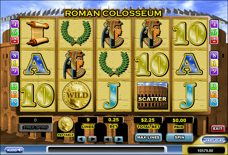 Fiera roma slot machine